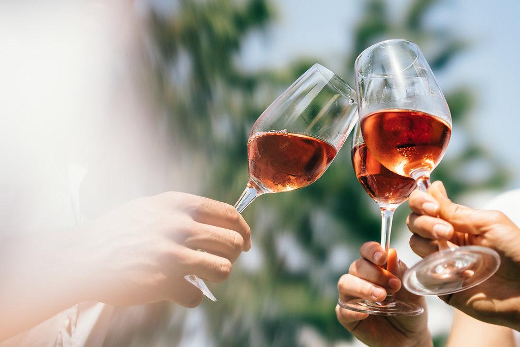 Weingläser Schilcher Wein