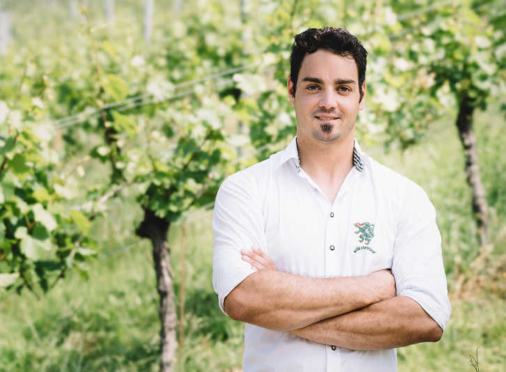 Garber Patrick im Weingarten