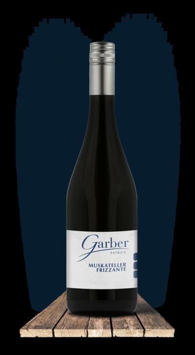 Wein Flasche Gelber Muskateller Frizzante