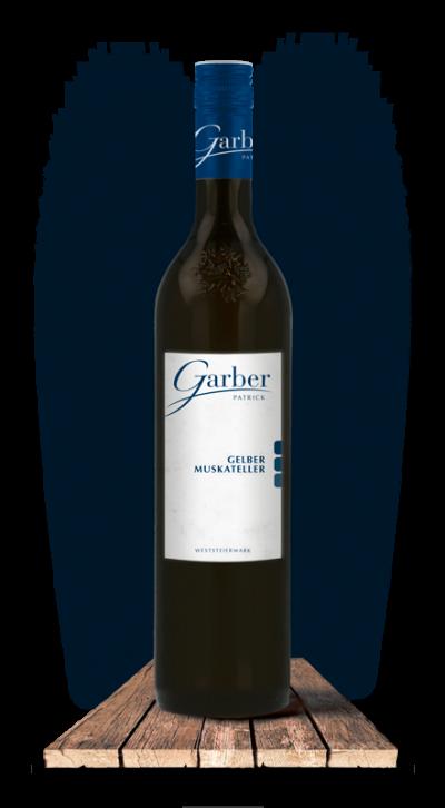 Wein Flasche Gelber Muskateller