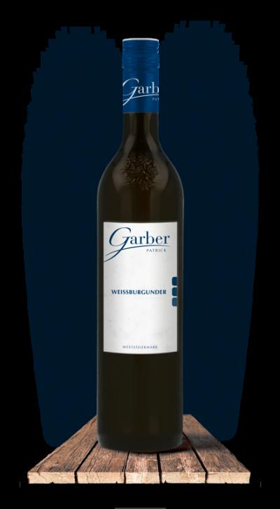Wein Flasche Weissburgunder