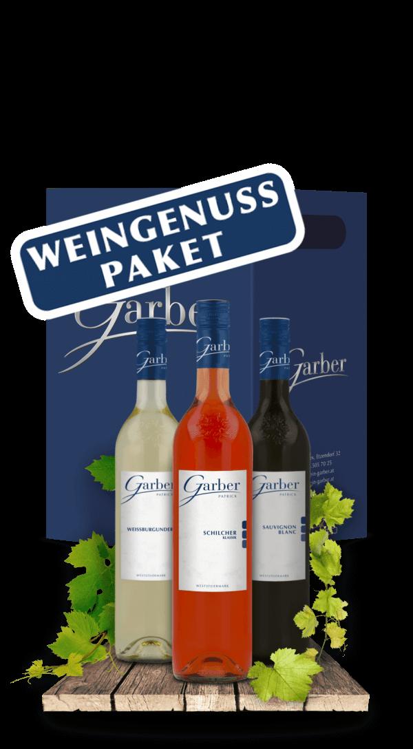 Ein Wein Paket mit 6 verschiedenen Weinen - Weingenuss Paket