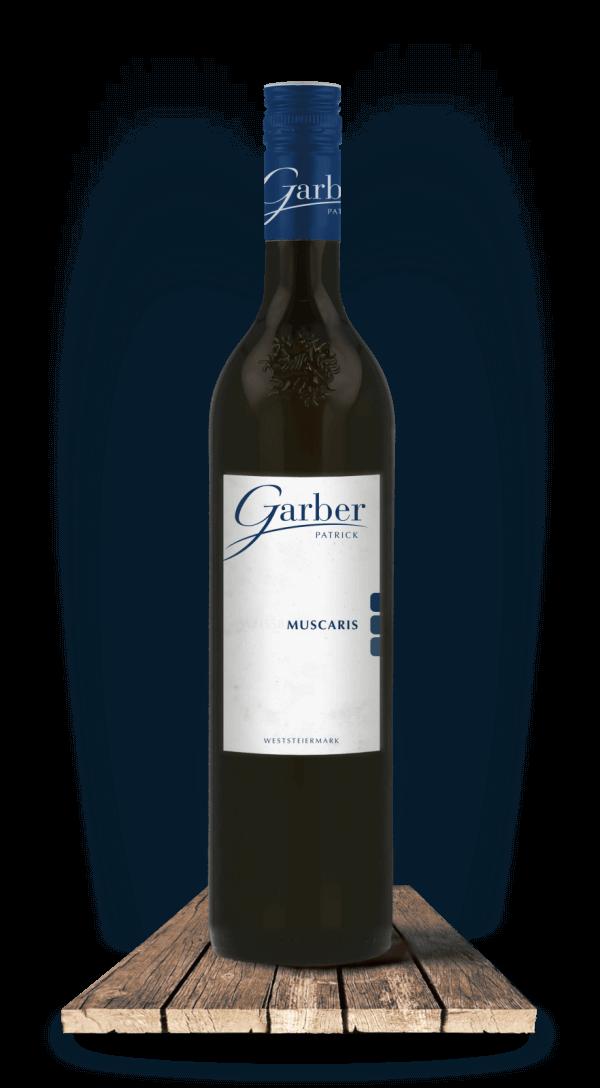 Wein Muscaris, Schwarze Flasche